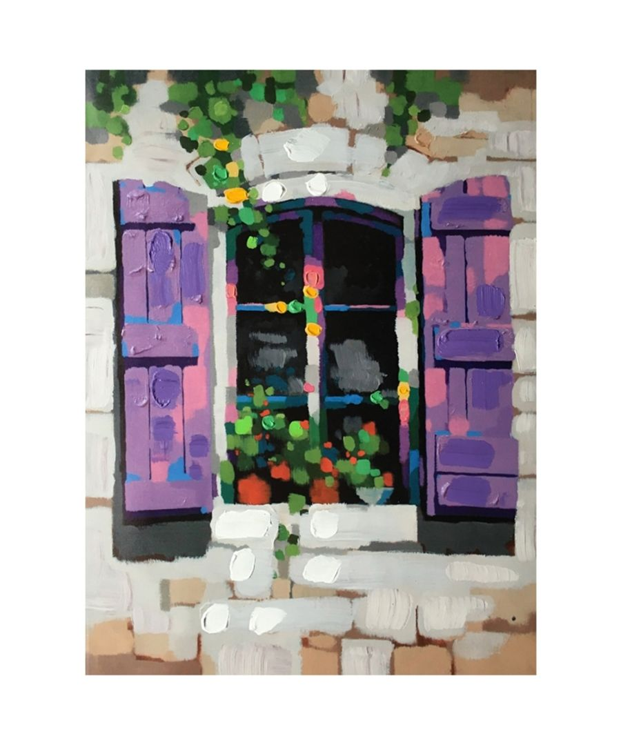 Image for Canvas Print - Provencal-Style Shutters Cm. 60x80