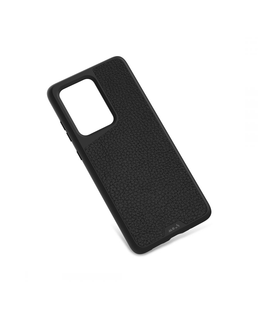 Image for Mous - Protective Case for Samsung Galaxy S20 Ultra - Limitless 3.0 - Black Leather - No Screen Protector