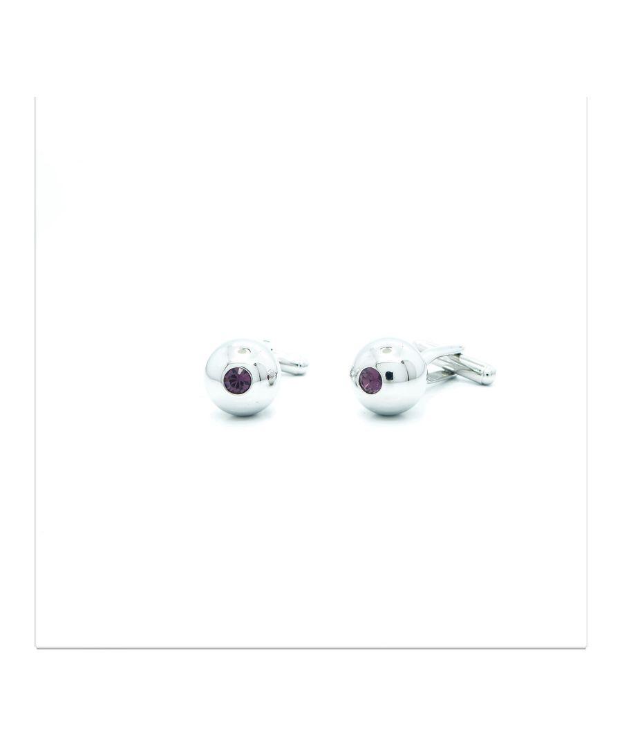 Image for Purple Swarovski Crystal Dot Ball
