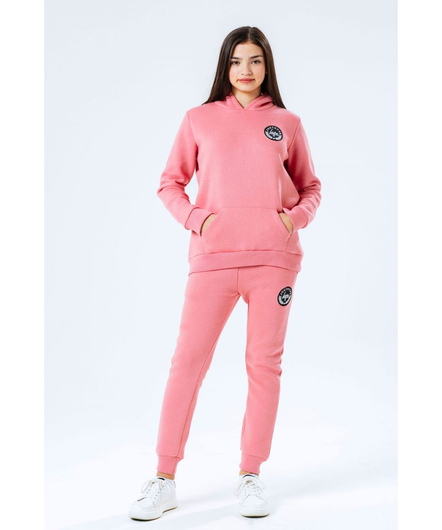 Image for Hype Pink Crest Kids Tracksuit