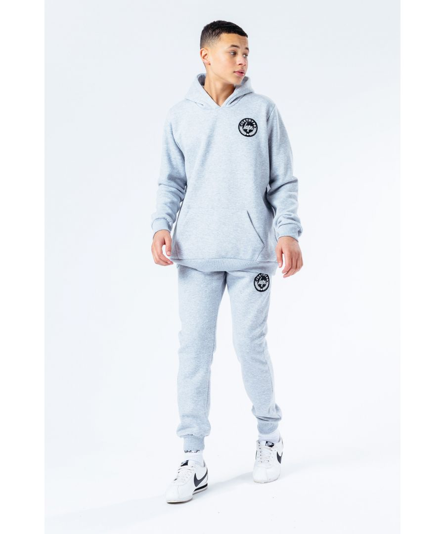 Image for Hype Grey Crest Kids Tracksuit