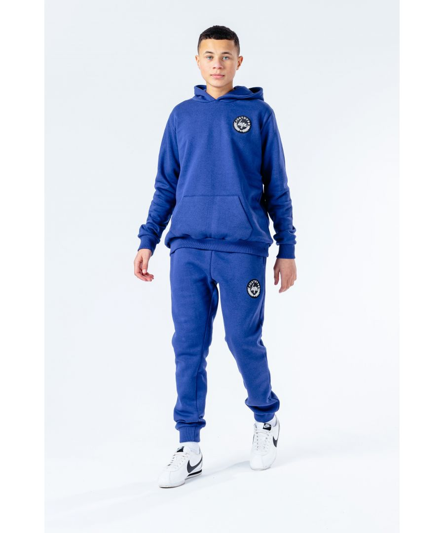 Image for Hype Navy Crest Kids Tracksuit