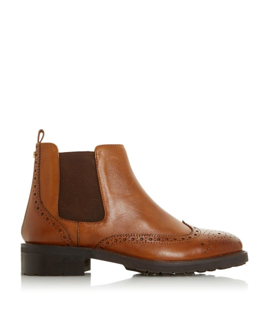 Image for Dune Ladies QUARTERS Brogue Chelsea Boots