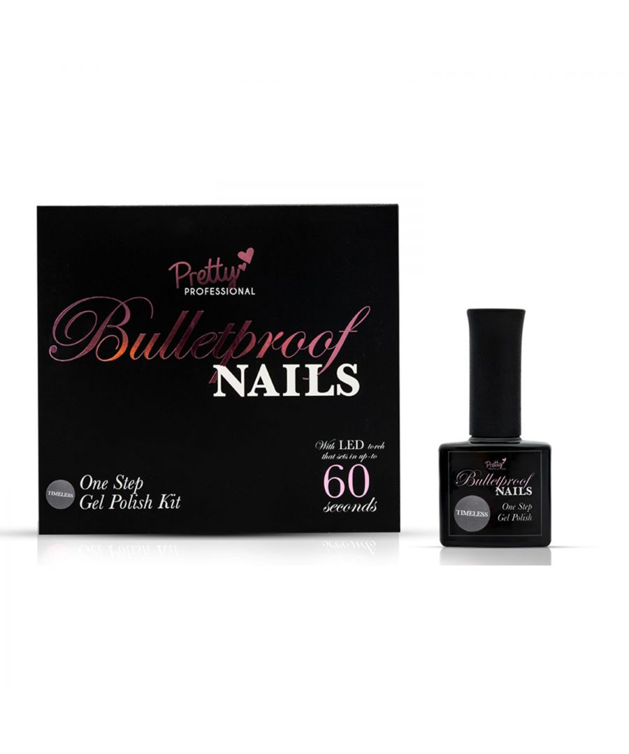 Image for Pretty Professional Bulletproof Nails Gel Polish Kit Timeless