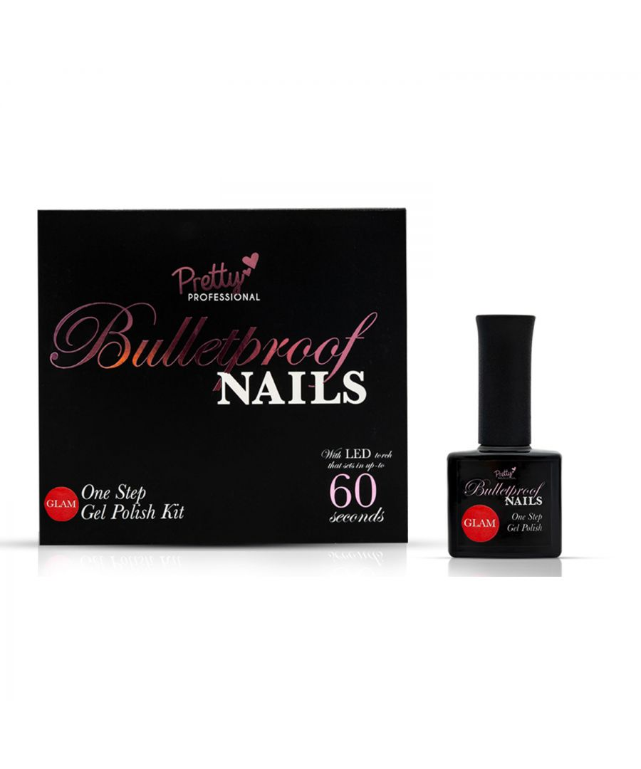 Image for Pretty Professional Bulletproof Nails Gel Polish Kit Glam
