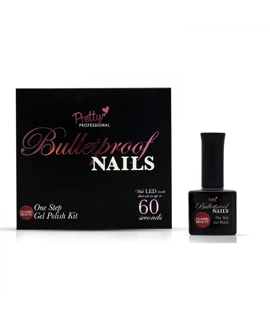 Image for Pretty Professional Bulletproof Nails Gel Polish Kit Classic Beauty