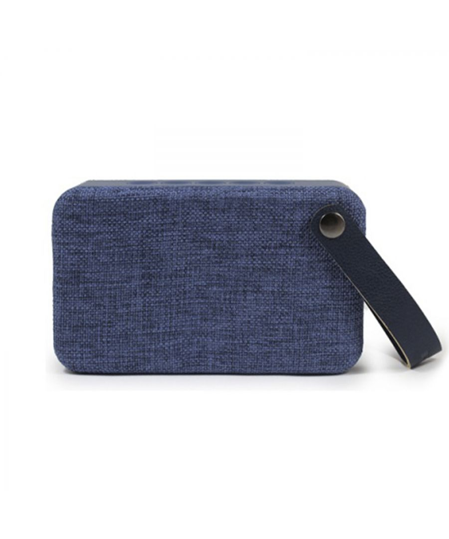 Image for Soundz Fabric Bluetooth Speaker SZ300 Blue