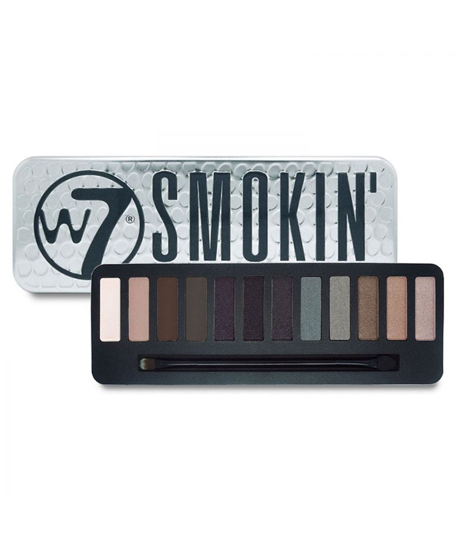 Image for W7 Smoking Eye Colour Palette 12 Shades