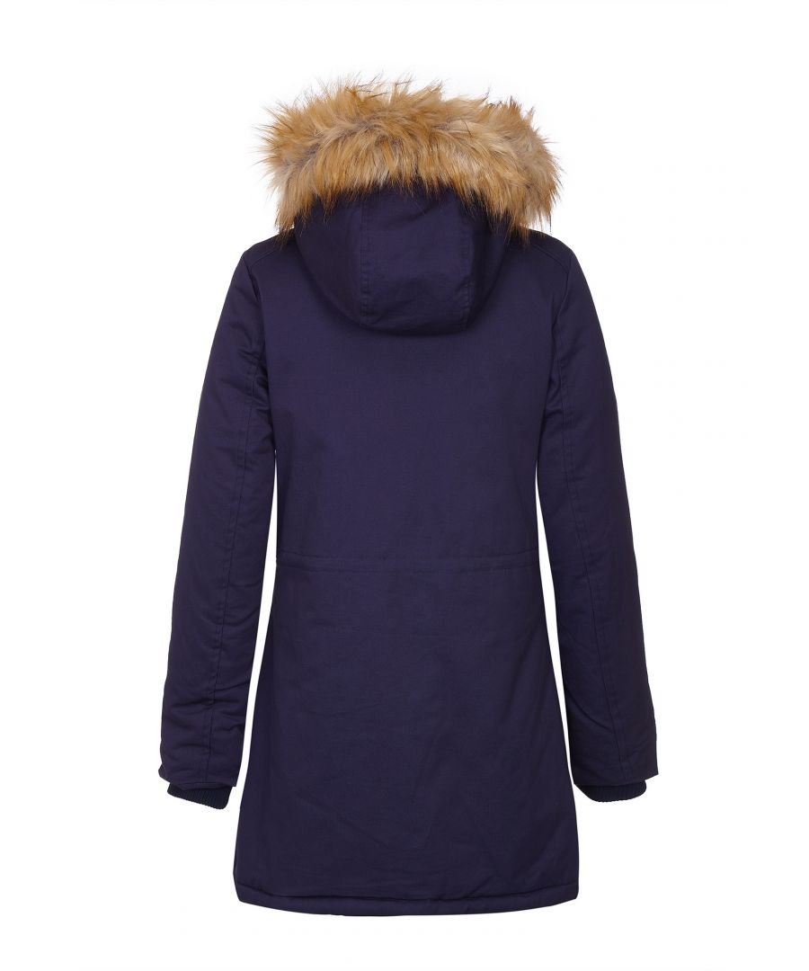 Image for Faux Fur Hood Parka Jacket