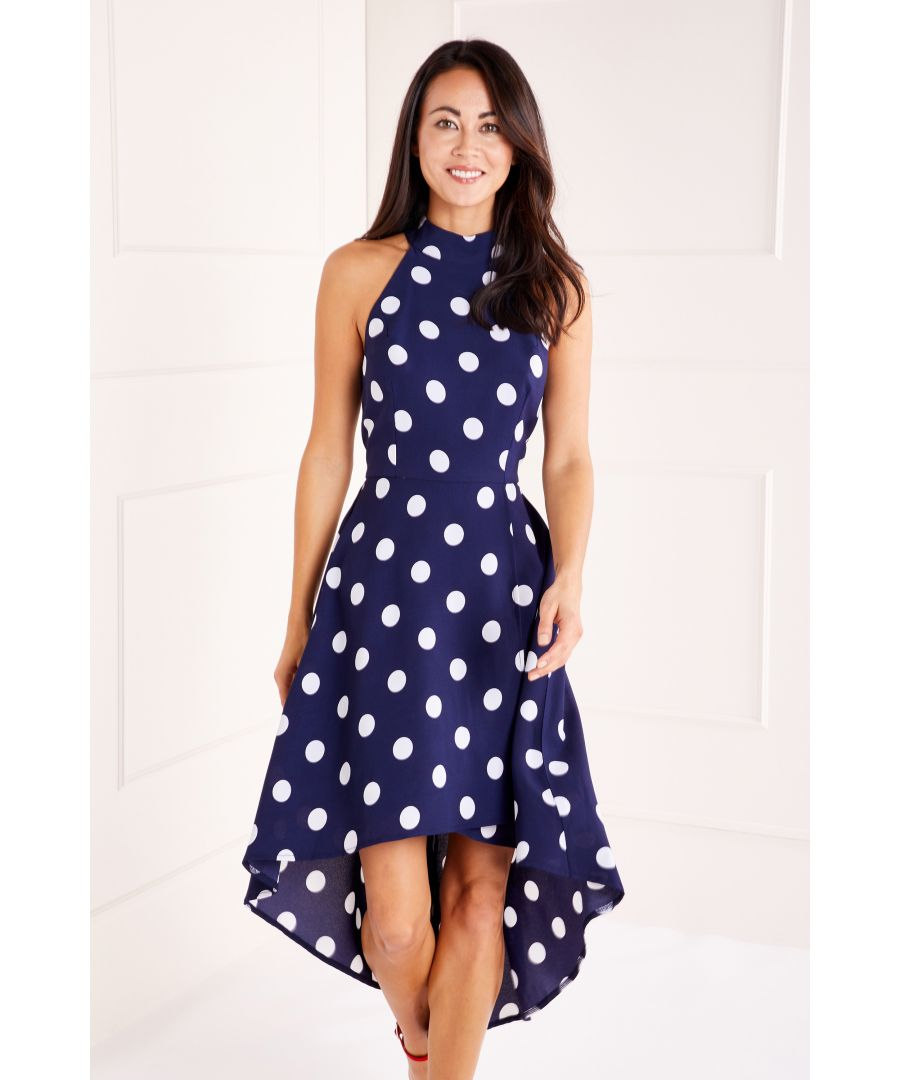 Image for Polka Dot High Low Dress