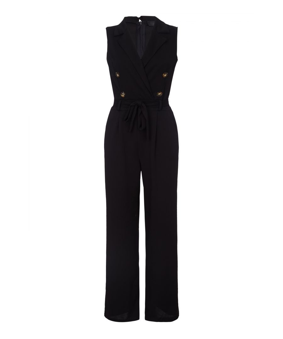 Image for Military Collared Jumpsuit