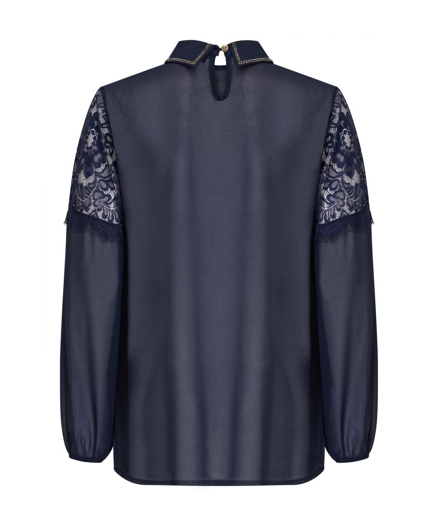 Image for Diamonte Detail Blouse