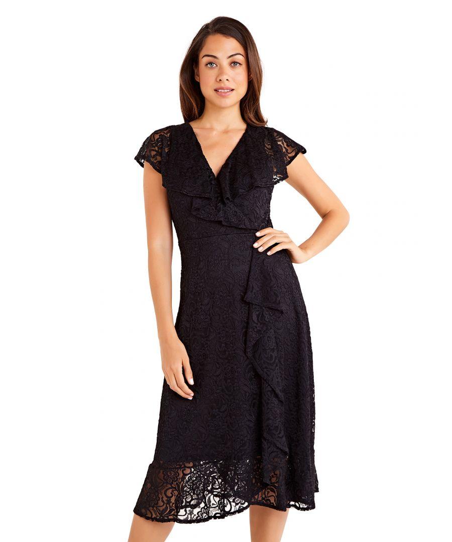 Image for Ruffle Overlay Dress