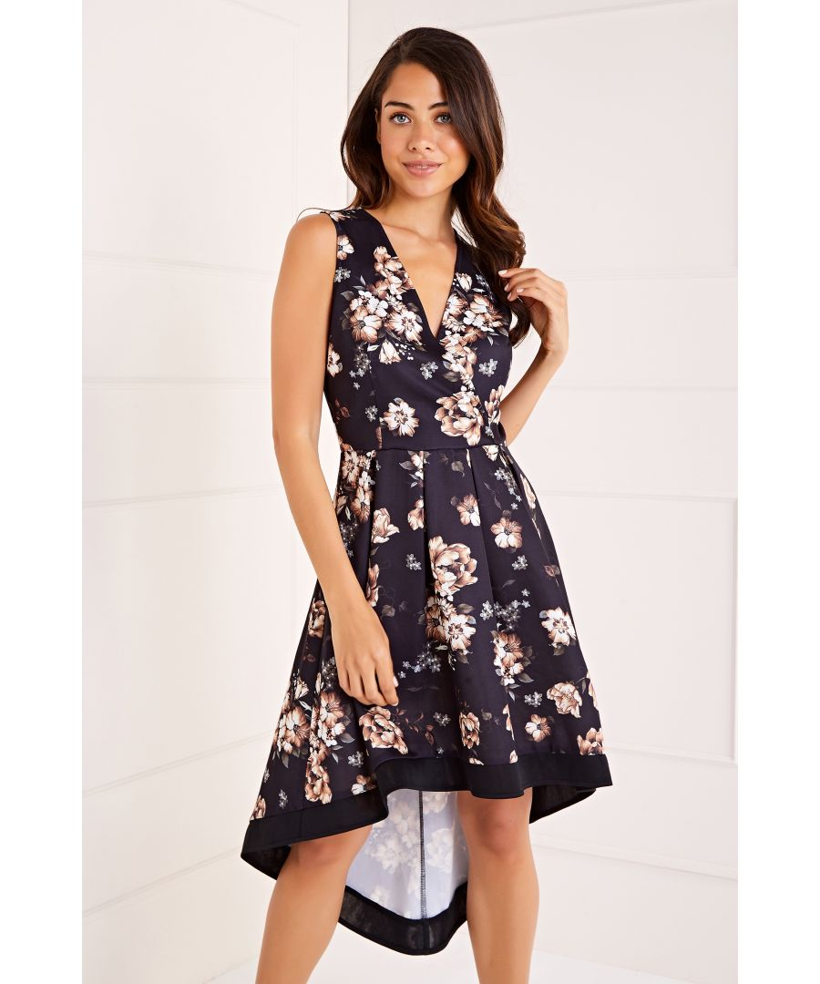 Image for Wrap Front High Low Dress