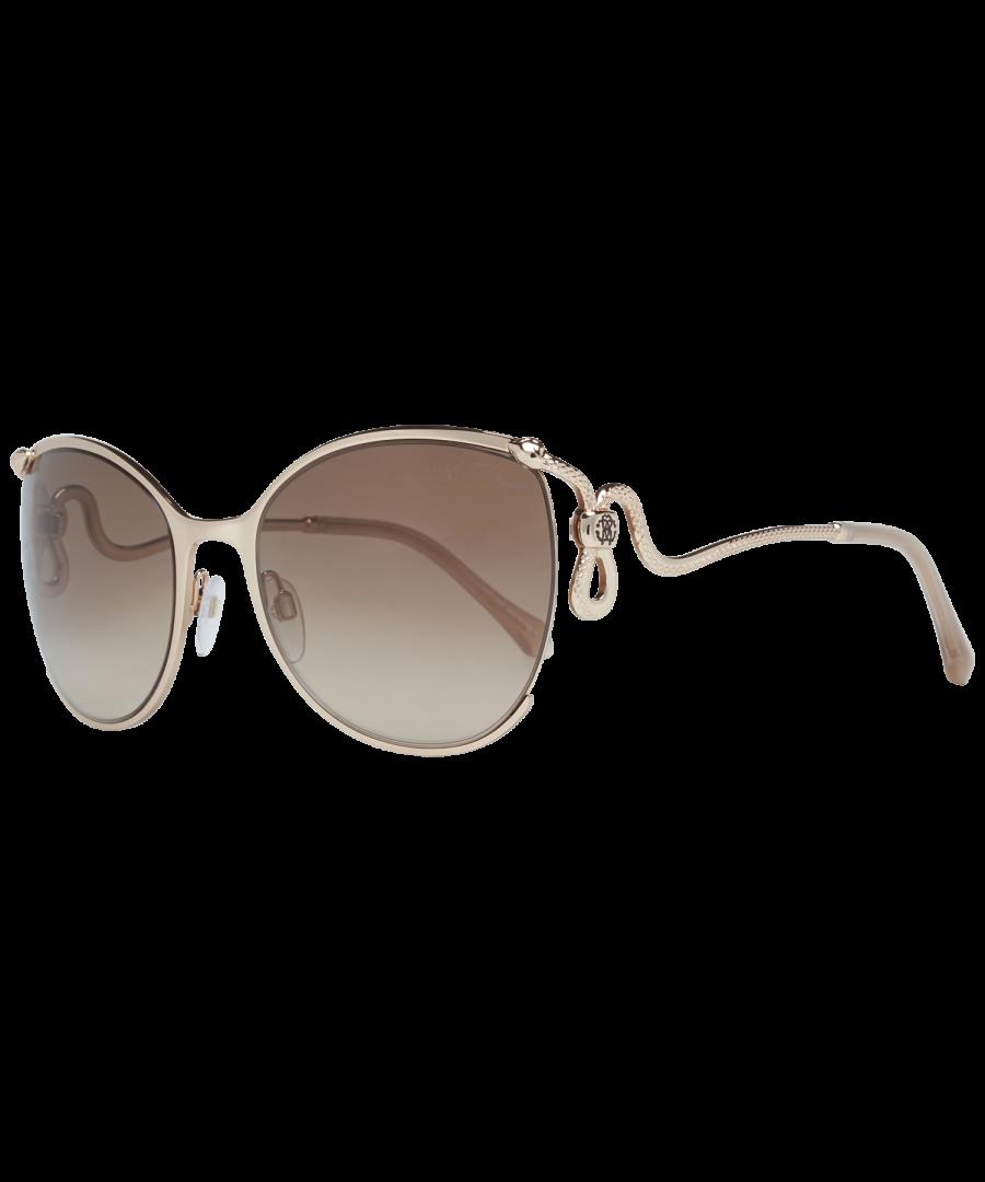 Image for Roberto Cavalli Sunglasses RC1025 28G 59 Women Gold