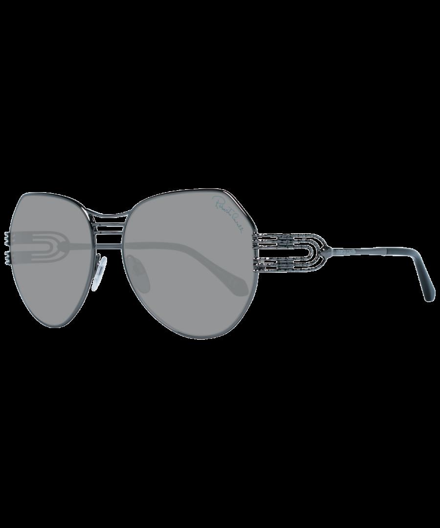 Image for Roberto Cavalli Sunglasses RC1064 08A 58 Women Gunmetal