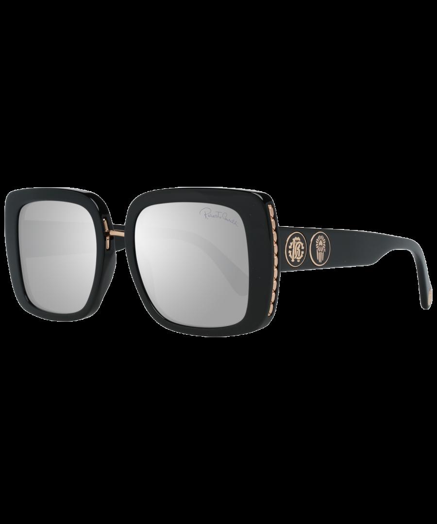Image for Roberto Cavalli Sunglasses RC1127 01C 54 Women Black