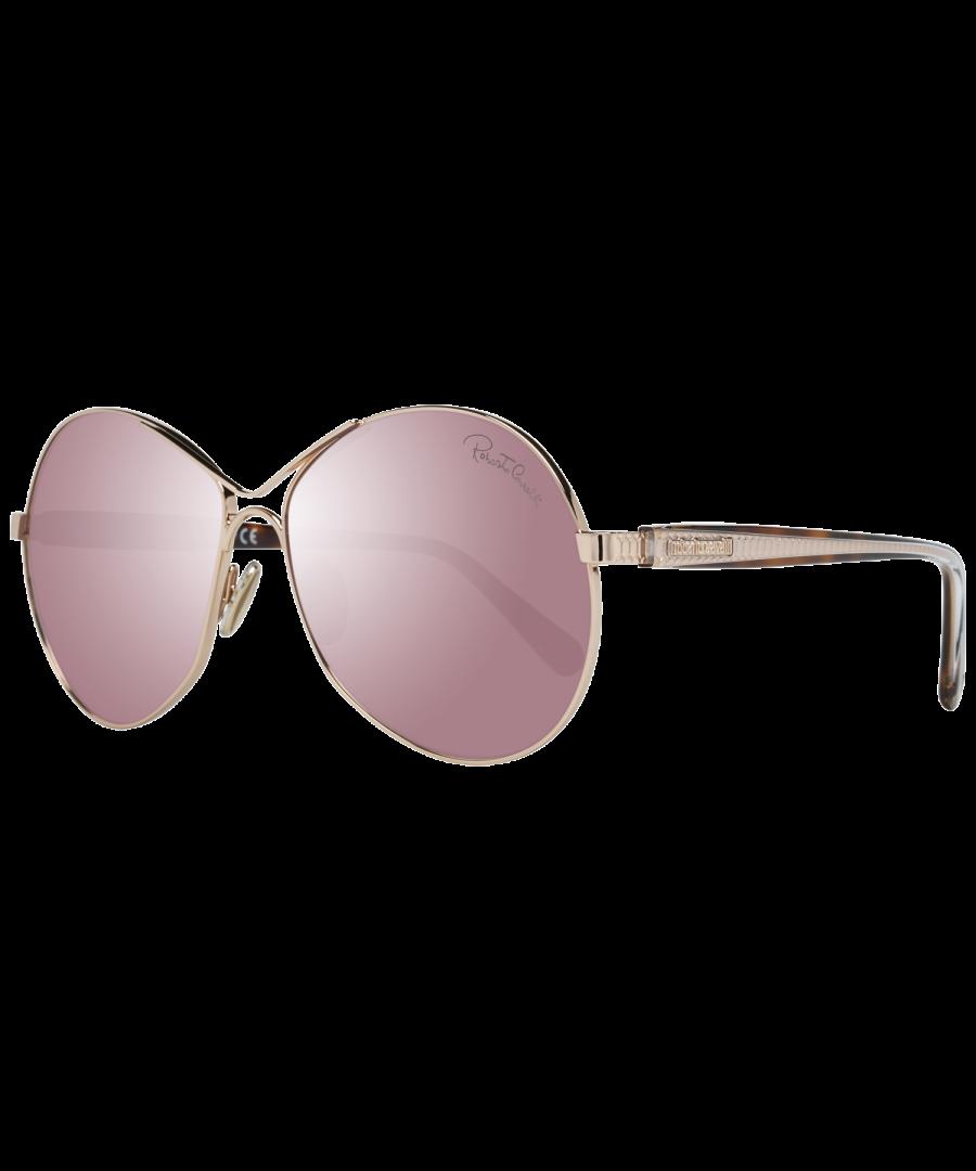 Image for Roberto Cavalli Sunglasses RC1138 28G 60 Women Gold