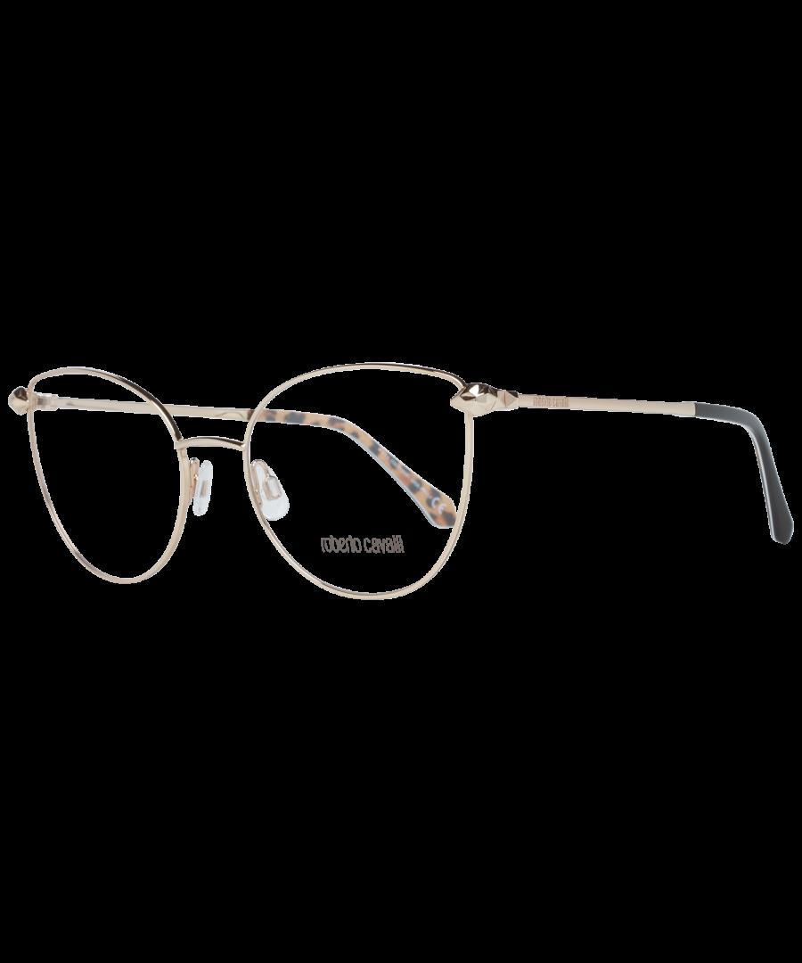 Image for Roberto Cavalli Optical Frame RC5065 028 55 Women Gold