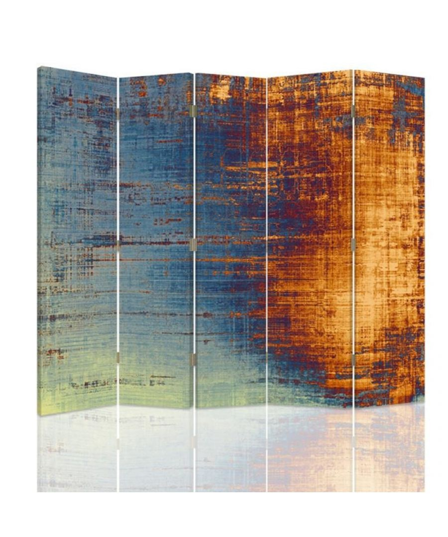 Image for Room Divider Contemporary Fade Effect - Indoor Decorative Canvas Screen cm. 180x180 (5 panels)