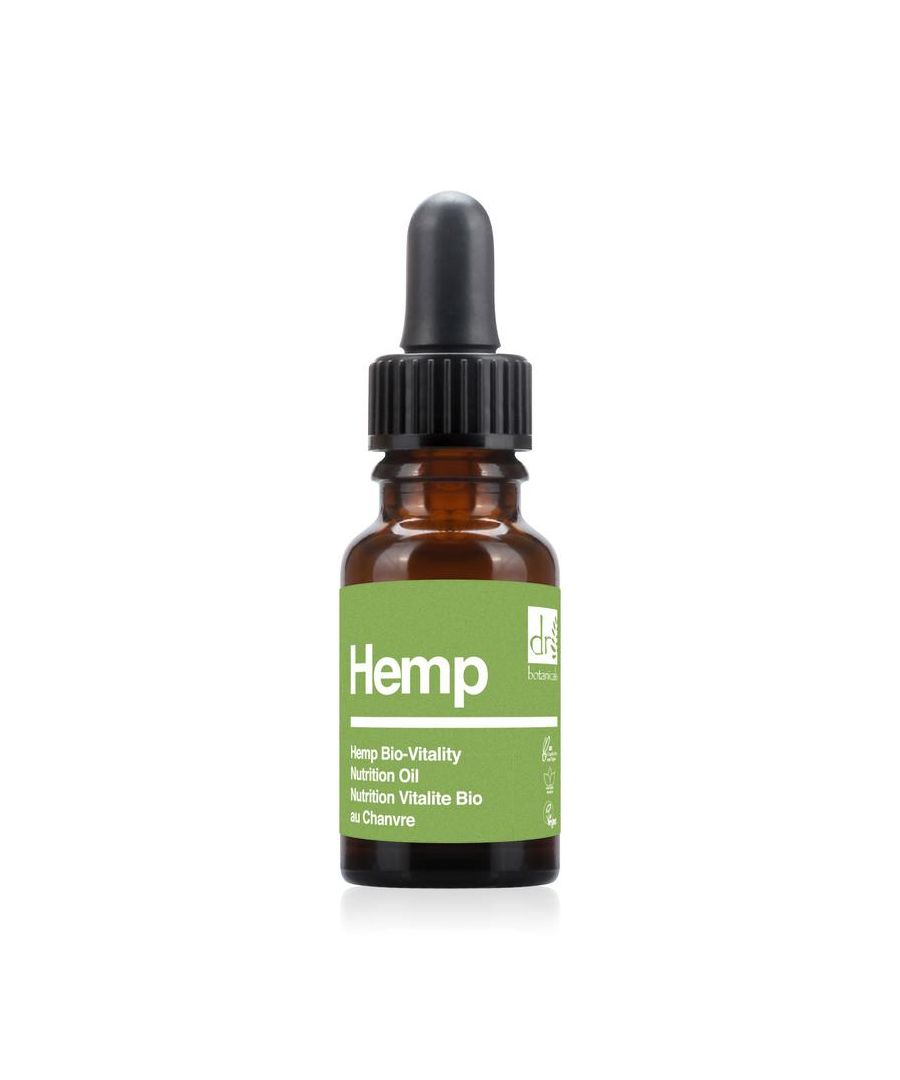 Image for Dr Botanicals Apothecary Collection Hemp Bio-Vitality Nutrition Oil 15ml