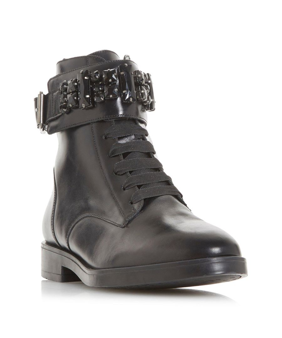 Image for Dune Ladies REBEKHA Jewel Encrusted Buckle Ankle Boot