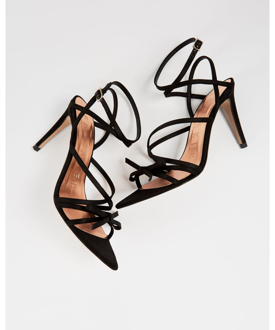 Image for Ted Baker Relana Strappy Heeled Sandals in Black