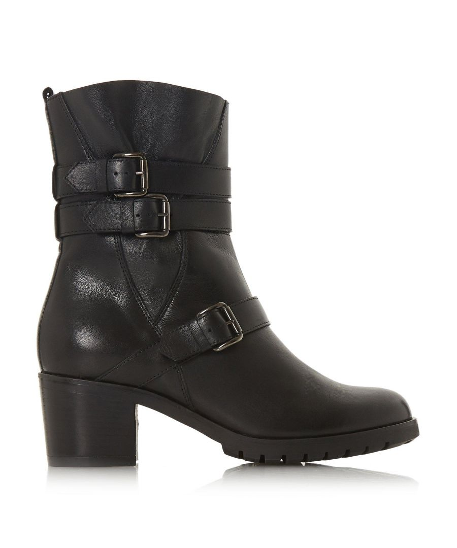 Image for Dune Ladies REUBEN Buckle Detail Boots