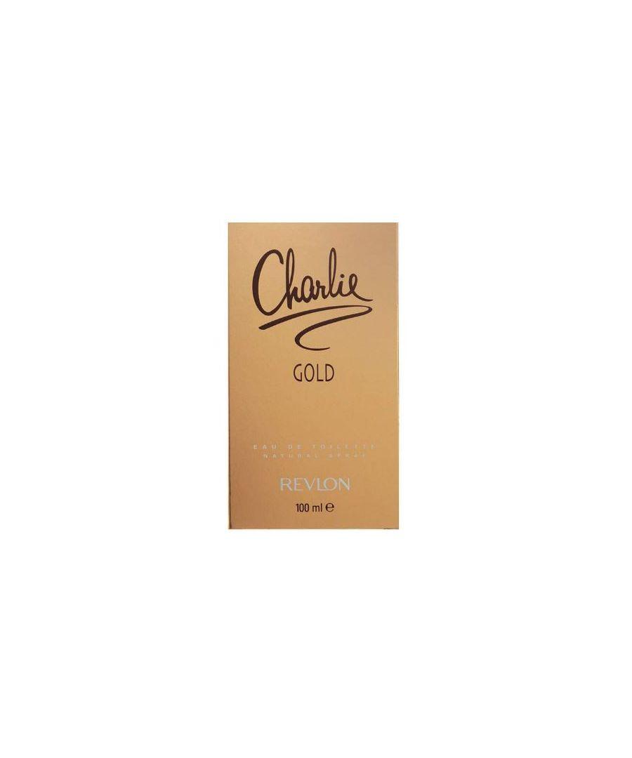 Image for Revlon CHARLIE GOLD EDT SPRAY 100ML