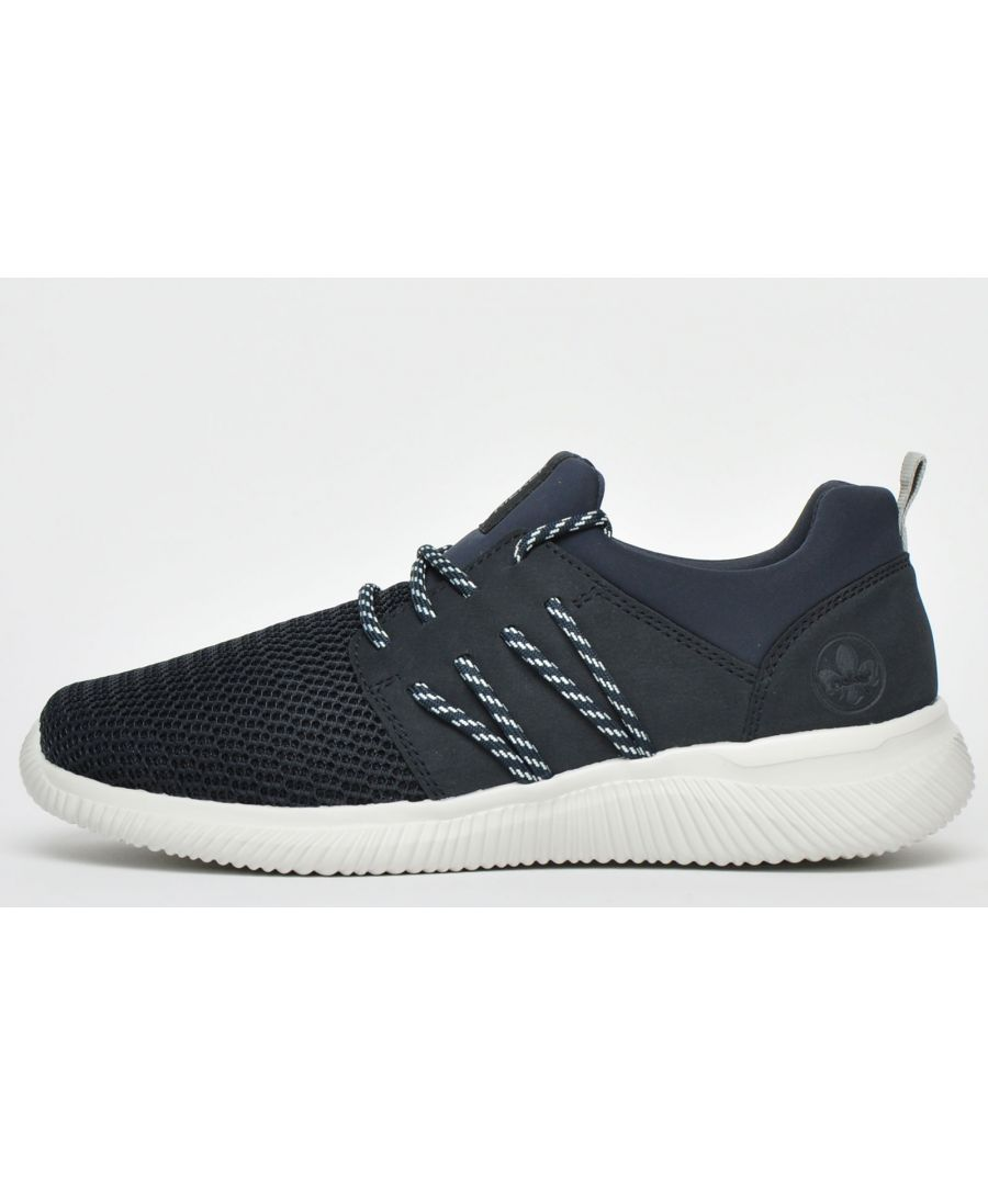 Image for Rieker Comfort Trainers Mens Wide Fit