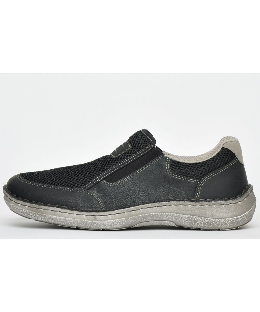Image for Rieker Casual Slip Ons Mens Wide Fit