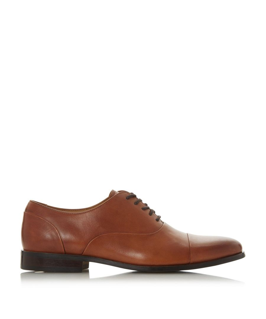 Image for Dune Mens ROBBIES Toecap Smart Oxford Shoes