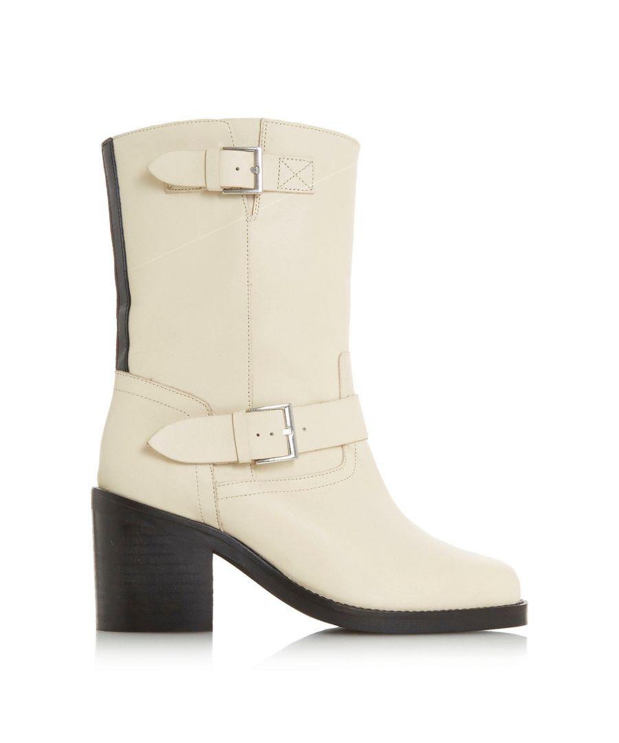 Image for Dune Ladies ROMEO Stripe Back Heeled Calf Boots