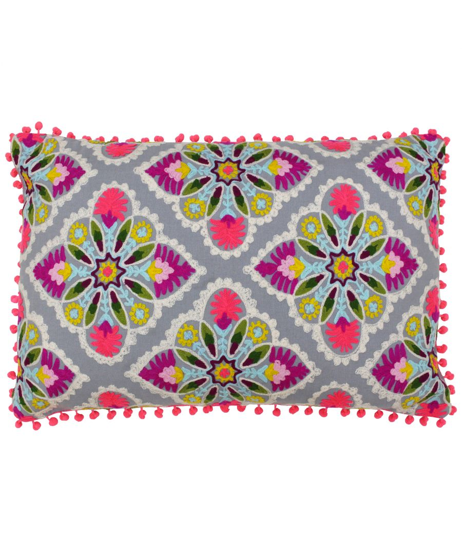 Image for Rosa Tile Polyester Filled Cushion