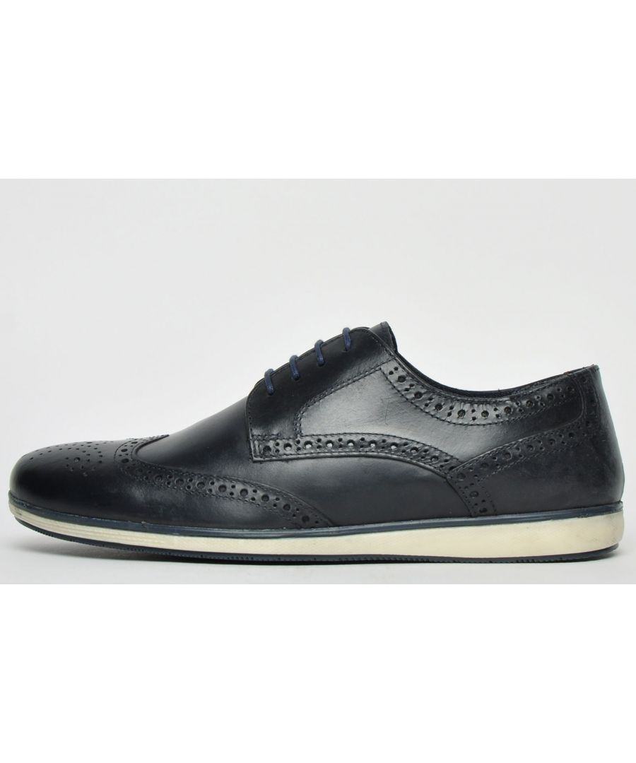 Image for Red Tape Fulshaw Leather Brogue Mens
