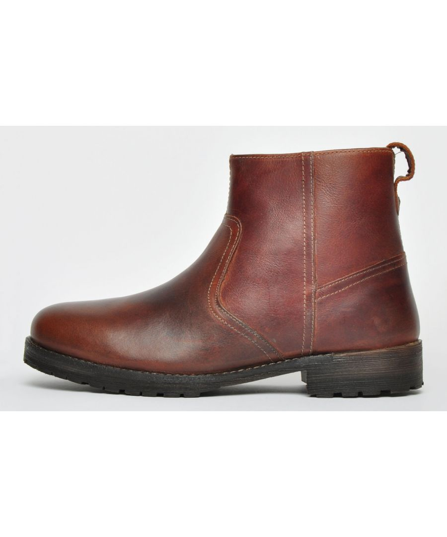 Image for Red Tape Tranby Leather Mens