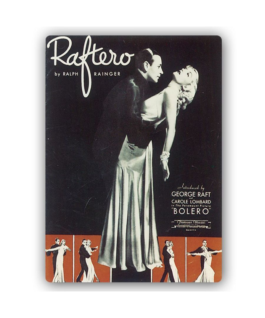 Image for Vintage Music Cover - Metal Print  - Raftero
