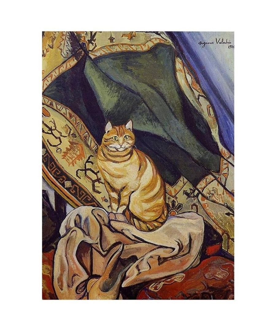 Image for Canvas Print - Raminou Sitting On A Cloth - Suzanne Valadon Cm. 50x70