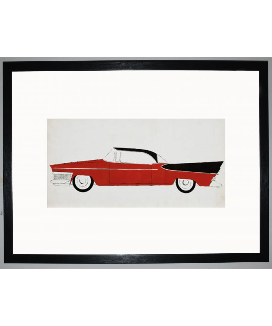 Image for Red & Black Car by Andy Warhol