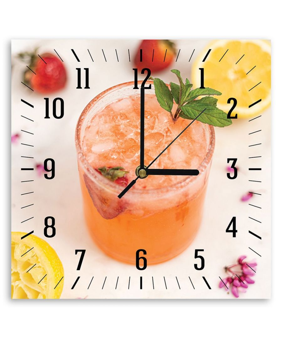 Image for Wall Clock - Fruit Refreshment Cm. 30x30