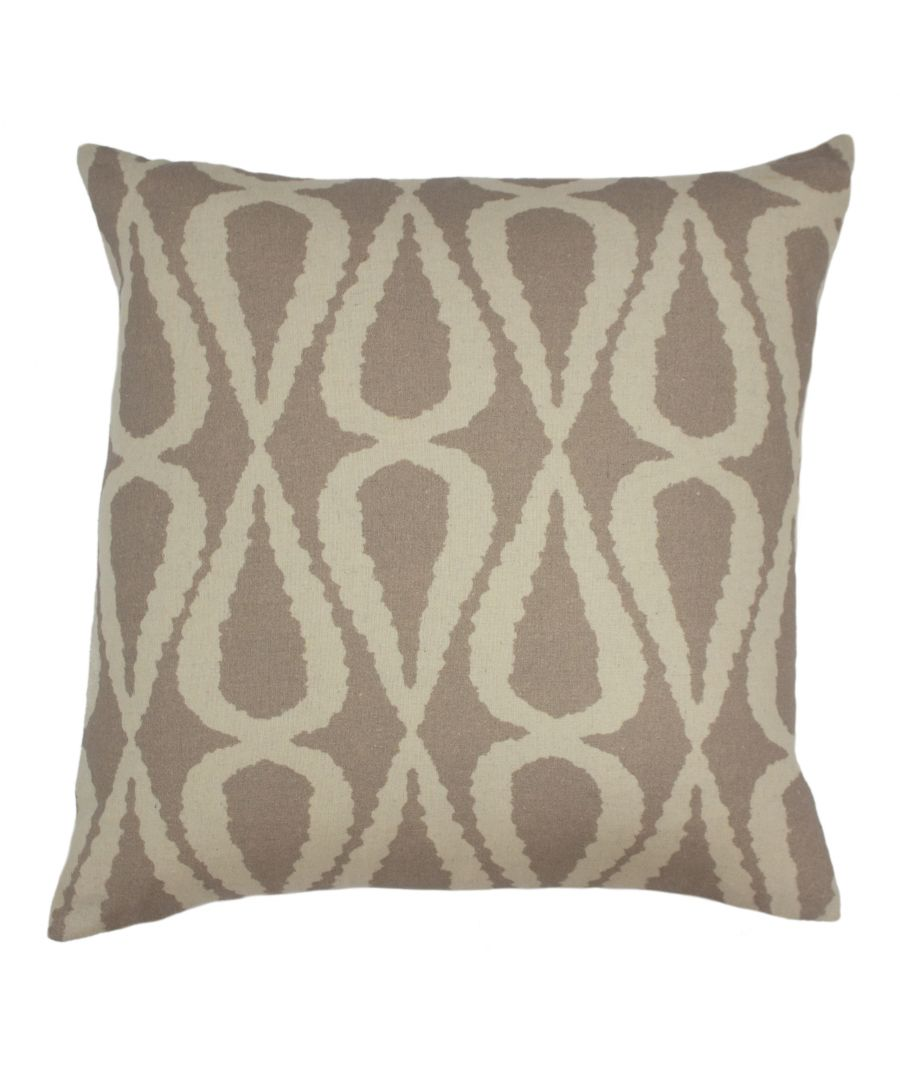 Image for Nomi 45X45 Poly Cushion Stone Grey