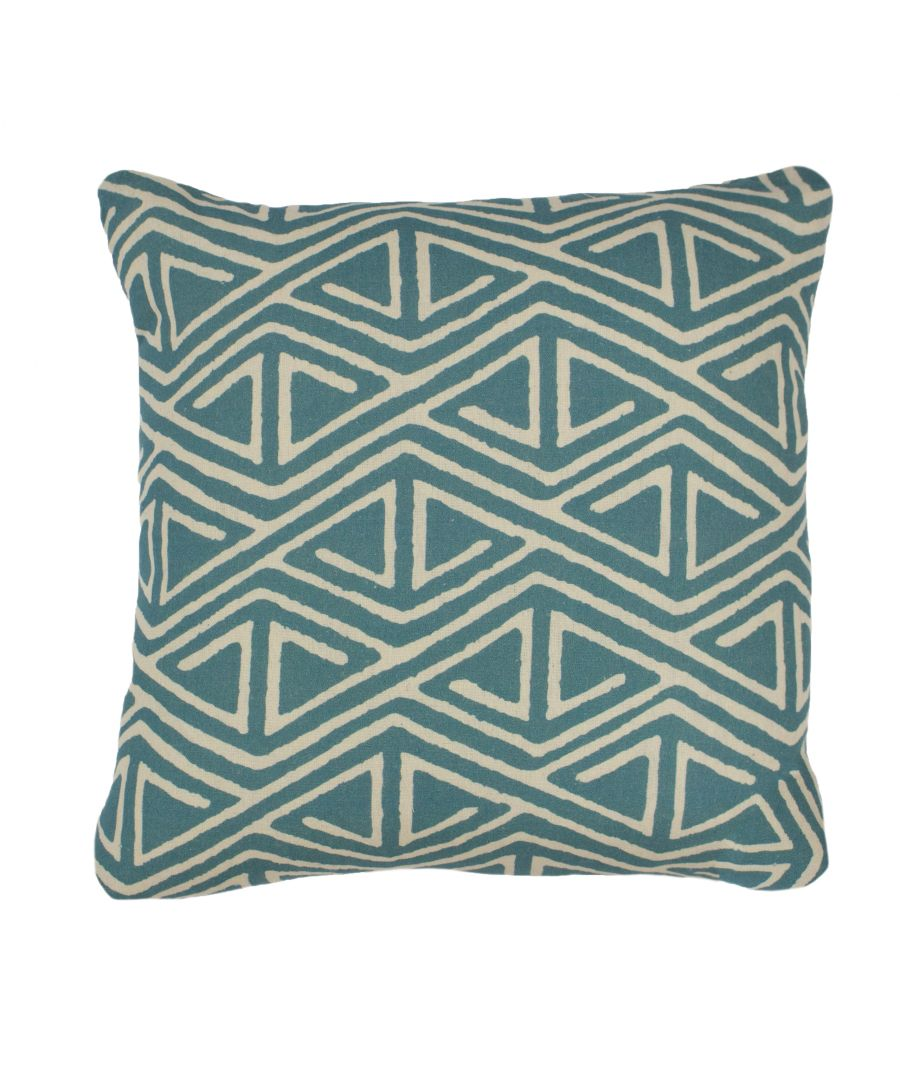 Image for Rocco 45X45 Poly Cushion Teal