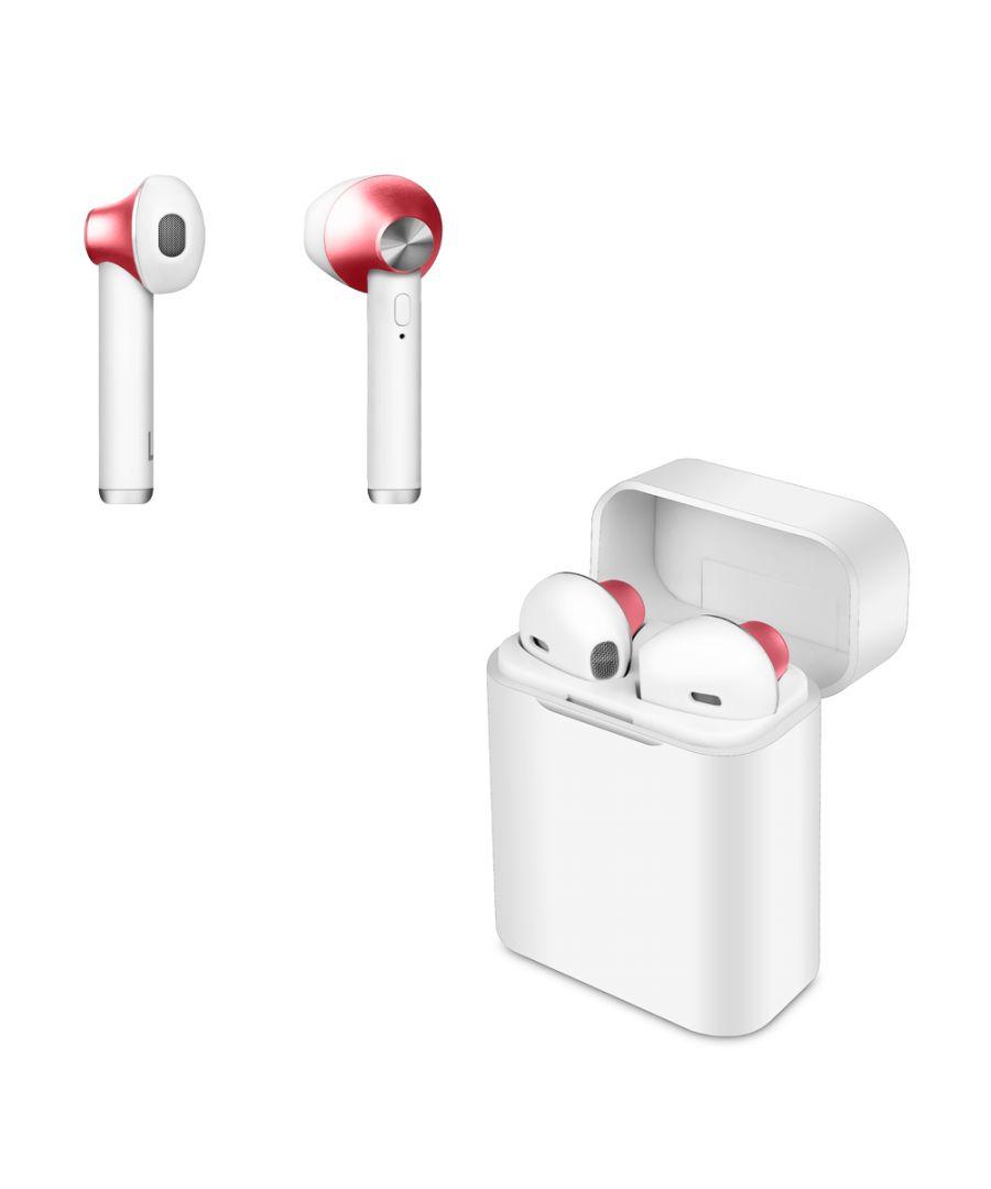 Image for Wireless Headphones Smartek TWS-550 Red