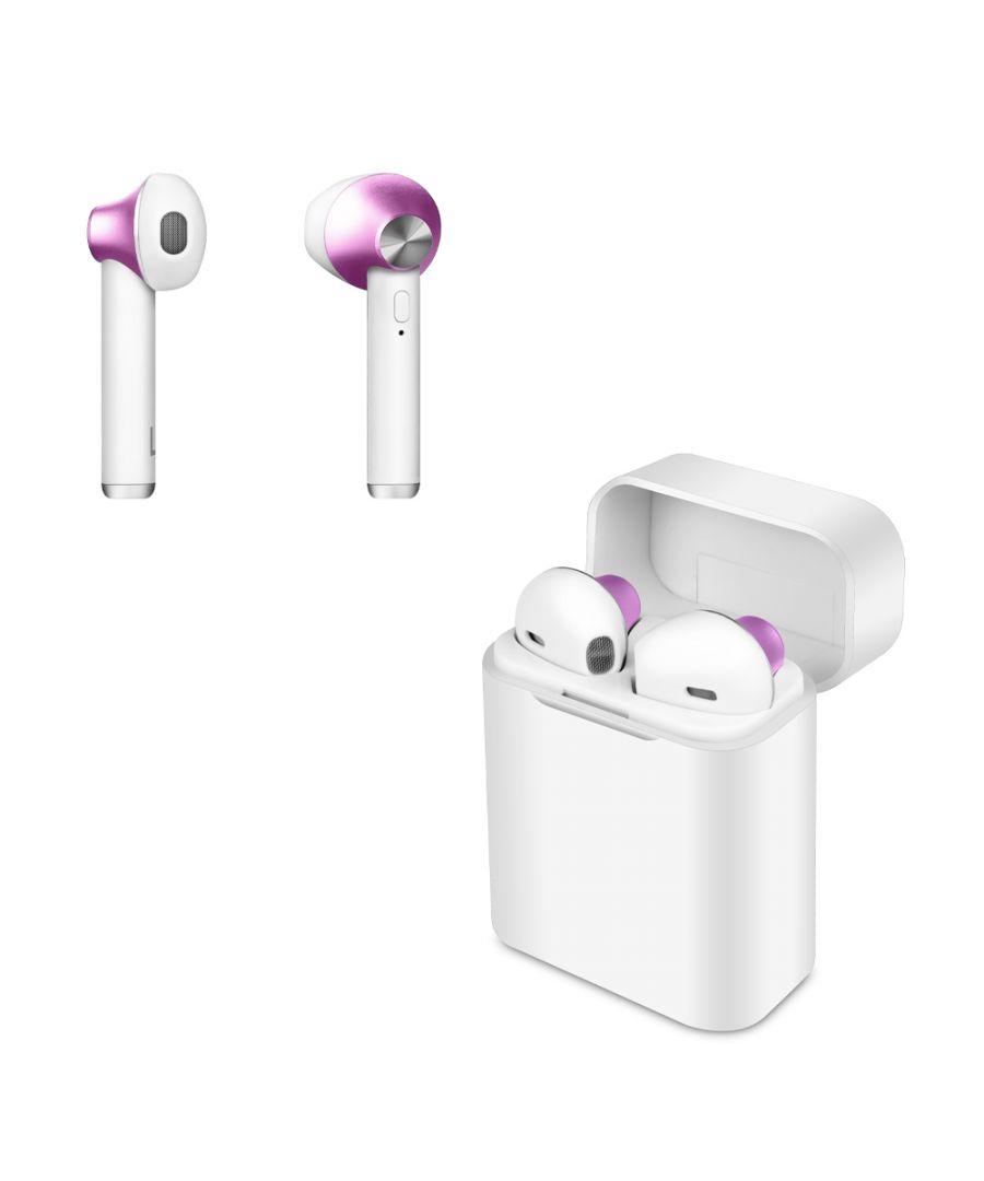 Image for Wireless Headphones Smartek TWS-550 Pink