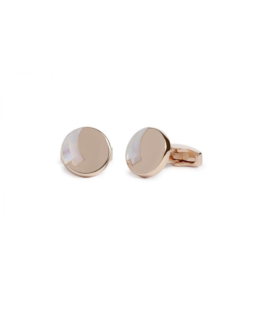 Image for MOP and Rosegold Rondo cufflink