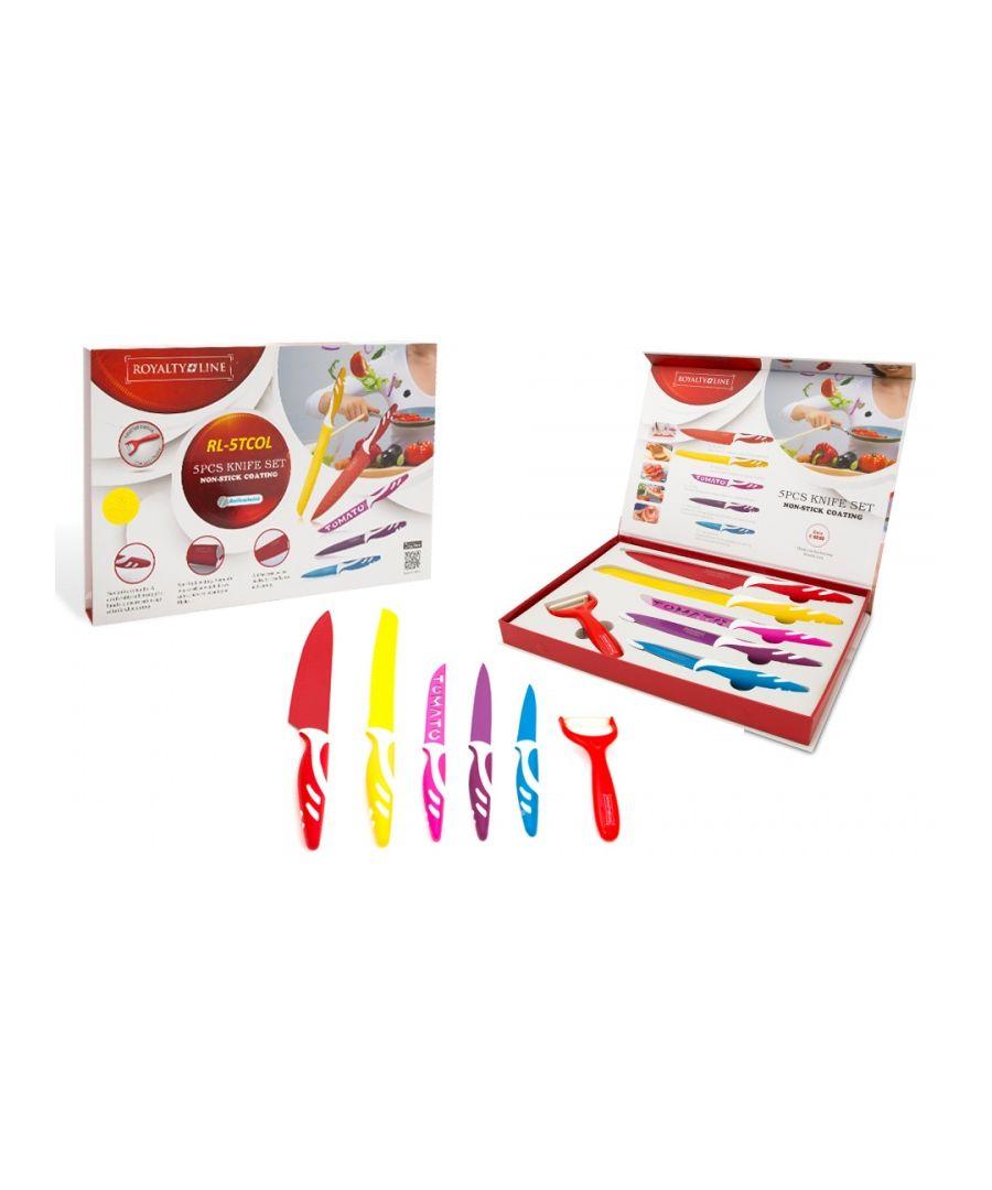 Image for Royalty Line 5 Knife Set