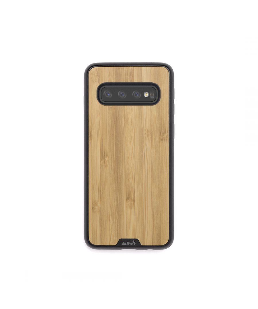 Image for Mous - Protective Case for Samsung Galaxy S10+ Plus - Limitless 2.0 - Bamboo - No Screen Protector