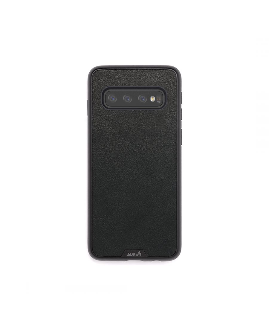Image for Mous - Protective Case for Samsung Galaxy S10 - Limitless 2.0 - Black Leather - No Screen Protector