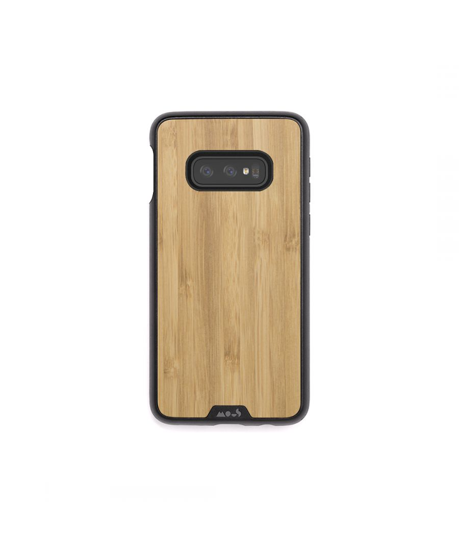 Image for Mous - Protective Case for Samsung Galaxy S10e - Limitless 2.0 - Bamboo - No Screen Protector