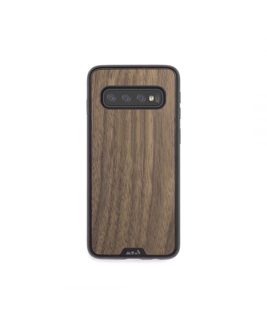 Image for Mous - Protective Case for Samsung Galaxy S10 - Limitless 2.0 - Walnut - No Screen Protector